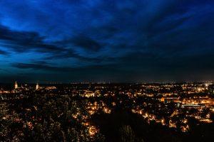 halberstadt in der blauen stunde