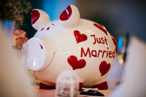 just married sparschwein